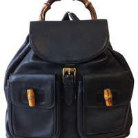 Gucci Bamboo Vintage Backpack