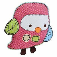 Hopscotch Owl Character Cushion by Living Textiles