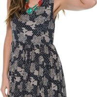RHYTHM WHOOPSIE DAISY SCOOP BACK DRESS
