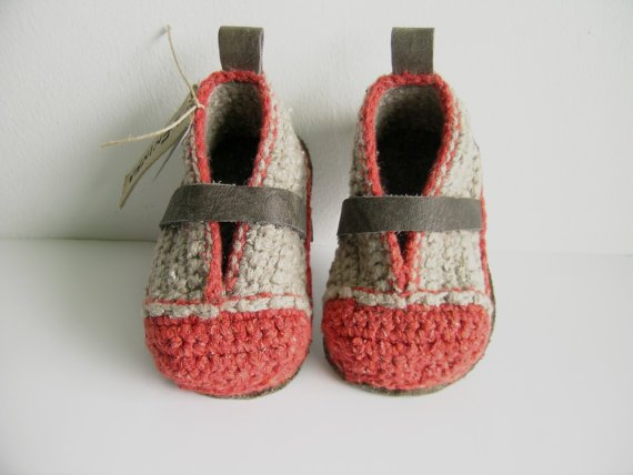 NEW Booties Made for Walking Toddler US sizes 313 by leninka