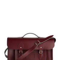 Cambridge Satchel Upwardly Mobile Satchel in Oxblood - 15 inch | Mod Retro Vintage Bags | ModCloth.com