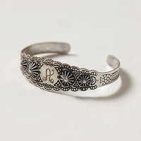 Scalloped Monogram Bracelet