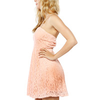 Papaya Clothing Online :: BACK BOW FLORAL LACY DRESS