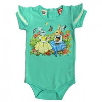 girls baby bodysuit short sleeve
