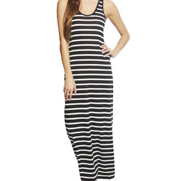 Beach Stripe Maxi Dress | Wet Seal