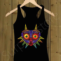 Legend of Zelda Majora Mask Cover _ Tank Top S,M,L,XL,XXL Tshirt Design By : surprisesold