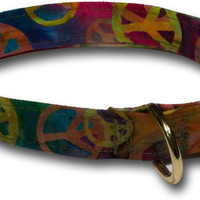 Peace Modern Dog Collar by Elmo's Closet - Pure Modern Design Contemporary Pet Products