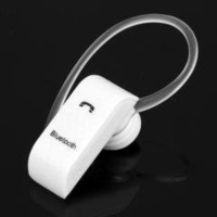 Universal White Bluetooth V2.0 Handsfree Headset for iPhone Cell Phone PDA