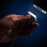 CordLite - illuminated Charger Cable for your iPhone by Scrap Pile Labs ?? Kickstarter
