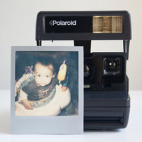 Camera, Working Polaroid OneStep, Film Tested, Ready to Ship