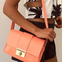 Peach Satchel | SABO SKIRT
