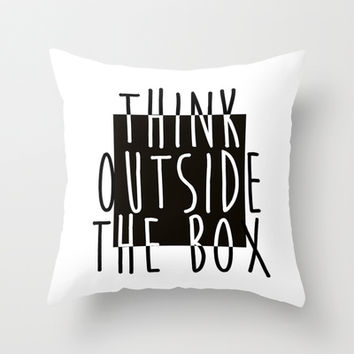 Quote Throw Pillow by Motivational | Society6
