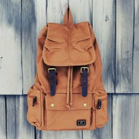 Shallow Creek Backpack in Tobacco