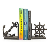 Nautical Iron Bookend Set