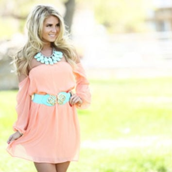 Peachy King Dress