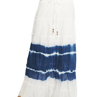 Crochet Tie Dye Maxi Skirt | Wet Seal