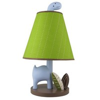 Jill McDonald Adorable Dino Nursery Lamp