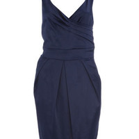 Rise midnight blue dress - Sale - Dresses - Dorothy Perkins