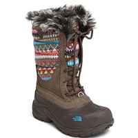 The North Face Girl's 'Shellista' Lace Up Snow Boot