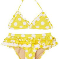 Ray Ray By Beach Rays Toddler Girls Darling Polka Dot Bikini