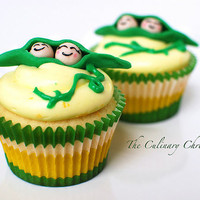 ?Two Peas in a Pod? Lemon Cupcakes « The Culinary Chronicles