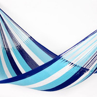 Deep Blue Hammock beautiful for your patio by veronicacolindres