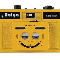 Holga 135 TIM 35mm 1/2 Frame Plastic Twin/Multi-Image Camera only - Yellow | Freestyle Photographic Supplies