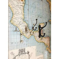 Map Wall Decal | Pottery Barn
