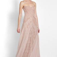 BCBGMAXAZRIA - WHAT&#x27;S NEW: MORIZA STRAPLESS GOWN