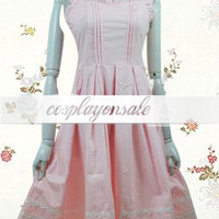 Sleeveless Cotton School Lolita Dress [T110339] - $82.00 : Cosplay, Cosplay Costumes, Lolita Dress, Sweet Lolita