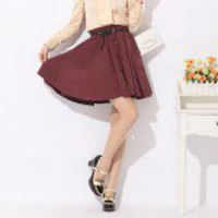 Elegant Big Bowknot Single Breasted Blouse Pink-Wholesale Women Fashion From Icanfashion.com