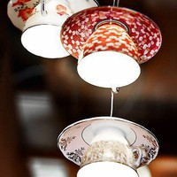 Tea Cup Lighting  - Electric Mavis luminare