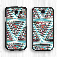 Samsung case,Doodle Shape GALAXY Note3 case,blue geometry GALAXY Note2 case,carpet pattern Galaxy S4 case,Galaxy S3 case,Galaxy S5 case