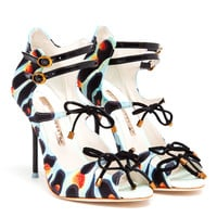 SOPHIA WEBSTER | Finn Embroidered and Embellished Sandals | Browns fashion & designer clothes & clothing