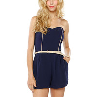 Papaya Clothing Online :: BELTED ROMPTER