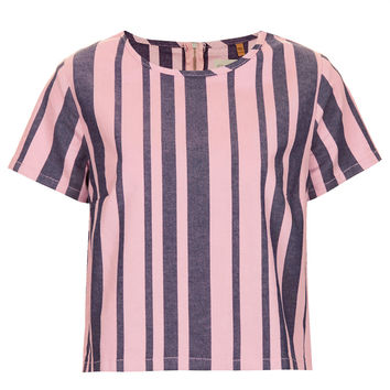 MOTO Denim Stripe Tee