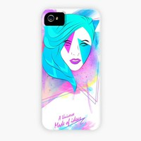 """Girl Z7"" - Phone Case by Edgar Gomez"