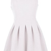 Perfect Girl Dress | White Daytime Fit Flare A-Line Dresses | Rickety Rack