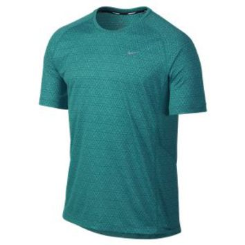 The Nike Miler Printed Men's Running Shirt.