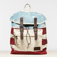 's Flag Backpack (White)