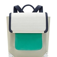 Aldo Rise X Ostwald Helgason Turquoise Bowie Backpack - Blue & White Backpack - ShopBAZAAR