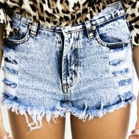 Rebel Wash Shorts