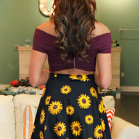 Sunflower Passion Skirt