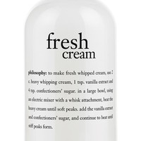 philosophy 'fresh cream' shampoo, shower gel & bubble bath (Limited Edition)