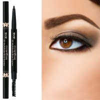 """Mirenesse"" 3D Multishade Brow Express - Triangular Waterproof Crayon & Styler Brush + *FREE EYE MASK*"