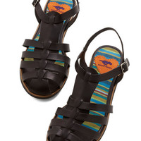 Skip Around the Block Sandal | Mod Retro Vintage Sandals | ModCloth.com