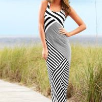 Striped maxi dress from VENUS