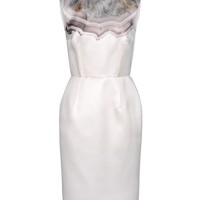 Giambattista Valli Sleeveless Dress - Silk Dress - ShopBAZAAR