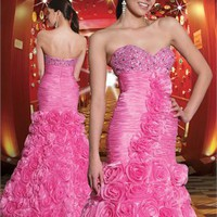 2012 pink Strapless Prom Dresses PDM157 - Wholesale cheap discount price 2012 style online for sale.