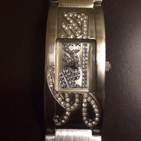 Guess Watch, Women's, Silver